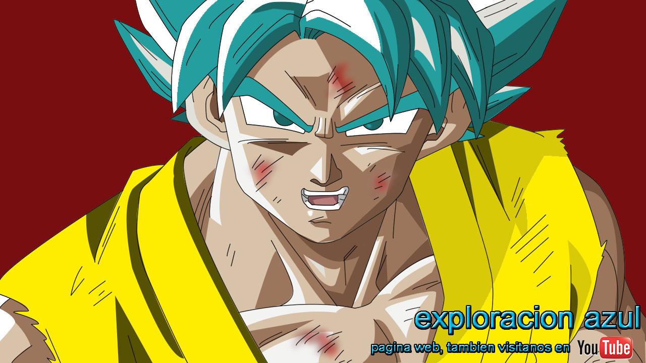 Dibujos Para Colorear De Goku Fase Dios