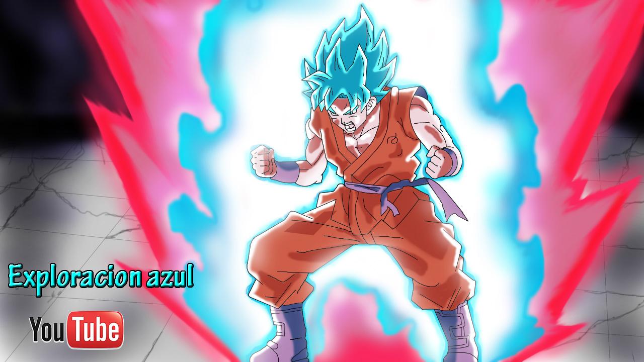 Goku Super Sayayin Dios Azul Para Colorear: Página Web De Exploracionazul